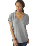 01936E1 Alternative Ladies' Eco Jersey Triblend Sleeveless Fashion Poncho