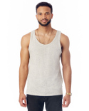 02813DA Alternative Men's Eco Nep Jersey Triblend Boathouse Fashion Tank