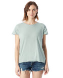 04134C1 Alternative Ladies' Garment-Dyed Cotton Rocker Fashion T-Shirt