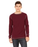 3500 Bella + Canvas Men's Thermal Long-Sleeve T-Shirt