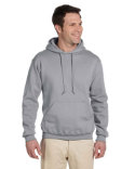 4997 Jerzees Adult 9.5 oz., Super Sweats® NuBlend® Fleece Pullover Hooded Sweatshirt