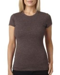6000L Next Level Ladies' Poly/Cotton Short-Sleeve Tee