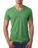 6245 Next Level Men's CVC Tee with Pocket