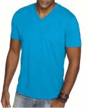 6440 Next Level Men's Premium Fitted Sueded V-Neck Tee