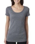 6730 Next Level Ladies' Tri-Blend Scoop Tee