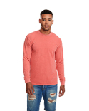7451 Next Level Adult Inspired Dye Long-Sleeve Crew with Pocket