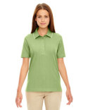 75045 Ash City - Extreme Edry® Ladies' Needle-Out Interlock Polo