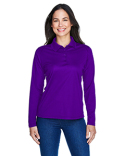 75111 Ash City - Extreme Eperformance™ Ladies' Snag Protection Long-Sleeve Polo