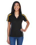 75119 Ash City - Extreme Eperformance™ Ladies' Strike Colourblock Snag Protection Polo