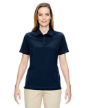 75120 Ash City - North End Ladies' Excursion Crosscheck Woven Polo