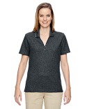 75121 Ash City - North End Ladies' Excursion Nomad Performance Waffle Polo