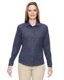 77045 Ash City - North End Ladies' Excursion Utility Two-Tone Performance Shirt