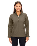 78212 Ash City - North End Ladies' Forecast Three-Layer Light Bonded Travel Soft Shell Jacket