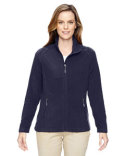 78215 Ash City - North End Ladies' Excursion Trail Fabric-Block Fleece Jacket