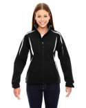 78650 Ash City - North End Ladies' Enzo Colorblocked Three-Layer Fleece Bonded Soft Shell Jacket