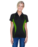 78657 North End Ladies' Serac UTK cool?logik™ Performance Zippered Polo