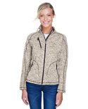 78669 Ash City - North End Ladies' Peak Sweater Fleece Jacket