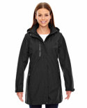 78670 Ash City - North End Ladies' Metropolitan Lightweight City Length Jacket