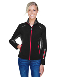 78678 Ash City - North End Sport Red Pursuit Three-Layer Light Bonded Hybrid Soft Shell Jacket with Laser Perforation