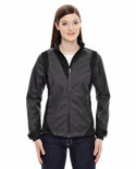 78686 Ash City - North End Ladies' Commute Three-Layer Light Bonded Two-Tone Soft Shell Jacket with Heat Reflect Technology