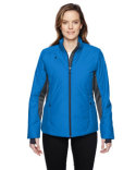 78696 Ash City - North End Ladies' Immerge Insulated Hybrid Jacket with Heat Reflect Technology