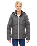 78698 Ash City - North End Ladies' Avant Tech Mélange Insulated Jacket with Heat Reflect Technology