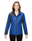 78805 Ash City - North End Ladies' Sprint Interactive Printed Lightweight Jacket