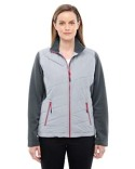 78809 Ash City - North End Ladies' Quantum Interactive Hybrid Insulated Jacket