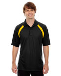 85104 Ash City - Extreme Eperformance™ Men's Colourblock Piqué Polo