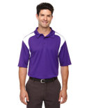 85105 Ash City - Extreme Eperformance™ Men's Colourblock Textured Polo