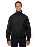 88103 Ash City - North End Men's Bomber Micro Twill Jacket