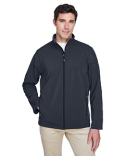 88184 Core 365 Men's Cruise Two-Layer Fleece Bonded Soft Shell Jacket