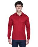88192 Ash City - Core 365 Pinnacle Performance Long-Sleeve Piqué Polo