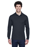 88192T Core 365 Men's Tall Pinnacle Performance Long-Sleeve Piqué Polo