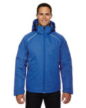 88197 Ash City - North End Linear Insulated Jacket with Print