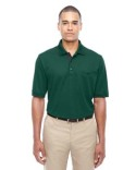 88222 Core 365 Men's Motive Performance Piqué Polo with Tipped Collar