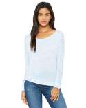 8850 Bella + Canvas Ladies' Flowy Long-Sleeve Off Shoulder T-Shirt