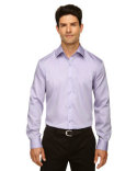 88673 North End Men's Boulevard Wrinkle-Free Two-Ply 80's Cotton Dobby Taped Shirt with Oxford Twill