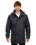 88684 Ash City - North End Sport Blue Enroute Textured Insulated Jacket with Heat Reflect Technology