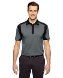 88692 Ash City - North End Sport Blue Merge Cotton Blend Mélange Polo