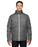 88698 Ash City - North End Men's Avant Tech Mélange Insulated Jacket with Heat Reflect Technology