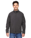 88801 Ash City - North End Skyscape Three-Layer Textured Two-Tone Soft Shell Jacket
