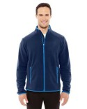 88811 Ash City - North End Sport Red Men's Vector Interactive Polartec Fleece Jacket