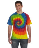 CD100 Tie-Dye 9 oz./lin. yd. 100% Cotton Tie-Dyed T-Shirt