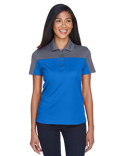CE101W Core 365 Ladies' Balance Colorblock Performance Piqué Polo