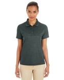 CE102W Core 365 Ladies' Express Microstripe Performance Piqué Polo