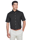 D620S Devon & Jones Men's Crown Woven Collection™ Solid Broadcloth Short-Sleeve Shirt