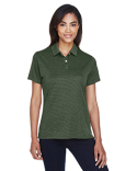 DG210W Devon & Jones Pima-Tech™ Jet Piqué Heather Polo