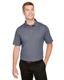 DG22 Devon & Jones CrownLux Performance™ Men's Address Melange Polo