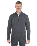 DG478 Devon & Jones Men's Manchester Fully-Fashioned Half-Zip Sweater